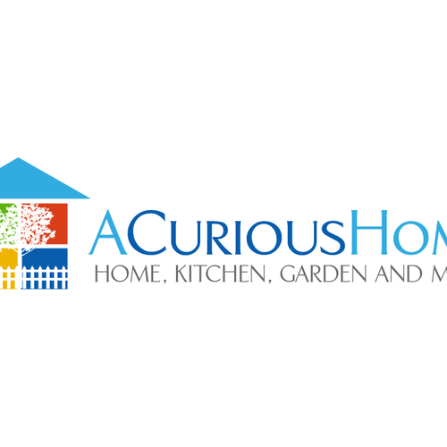 Gift logo with the title 'Home, Kitchen, and Garden Q&A website Logo'