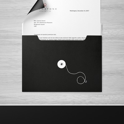 Stationery Concept for Rothstone Atelier