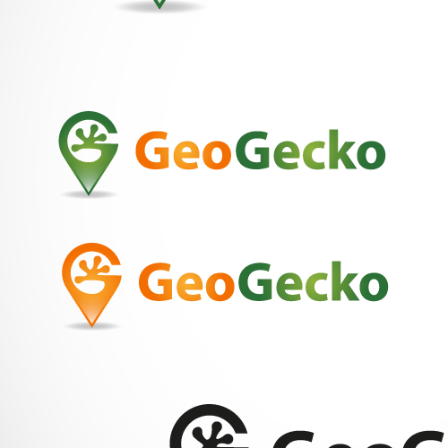 Location logo with the title 'Geo Gecko '