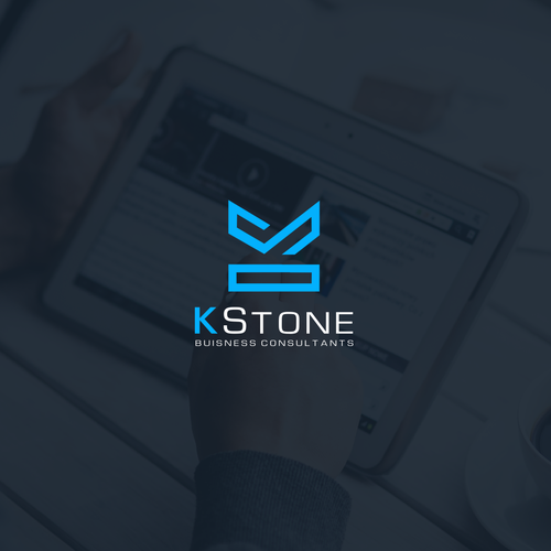 K brand with the title 'K Stone Logo'