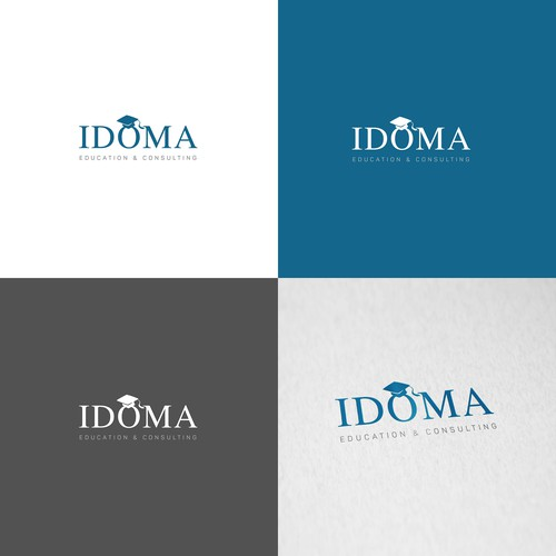 E-learning logo with the title 'Idioma Education & Consulting'