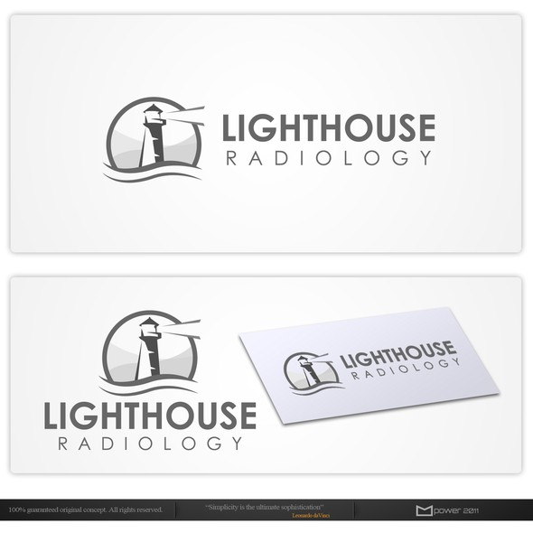 Ultrasound logo with the title 'New logo wanted for Lighthouse Radiology'