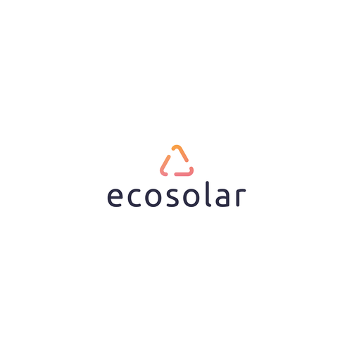 Renewable energy design with the title 'Ecosolar'