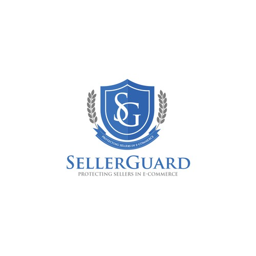 Blues design with the title 'Elegant and classic logo concept'