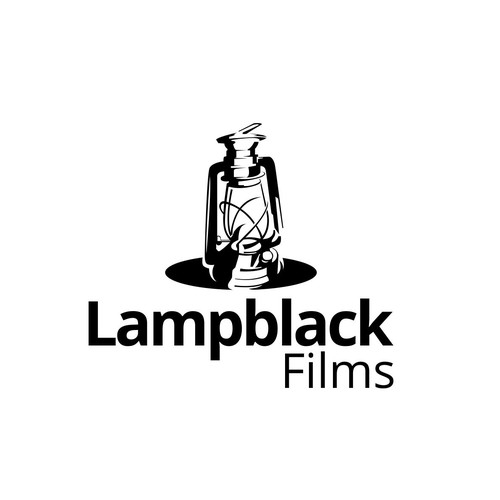 Lantern logo with the title 'Lampblack Films'