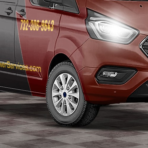 Ford design with the title 'Tactical Van Design for World class Electrical Company'