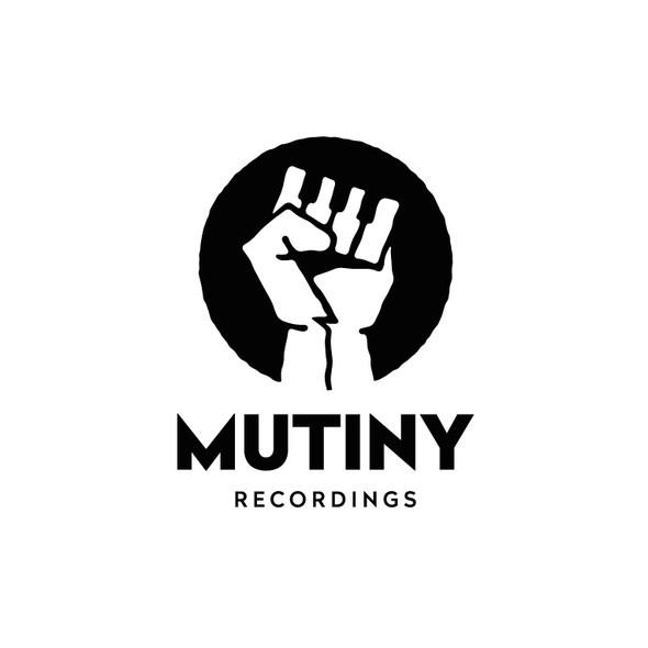 Piano keys design with the title 'Creative logo for Mutiny'