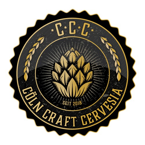 Hospitality design with the title 'Craft Beer Logo'