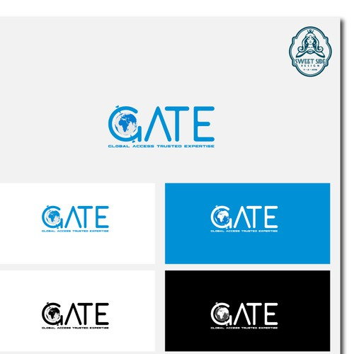 Gate logo with the title 'GATE'