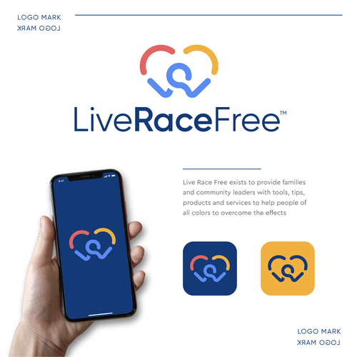 Relationship design with the title 'LiveRaceFree'