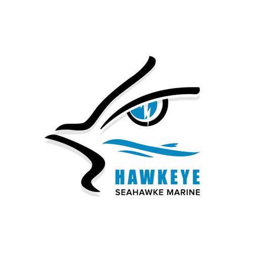 Lightning logo with the title 'Hawkeye SM Logo'
