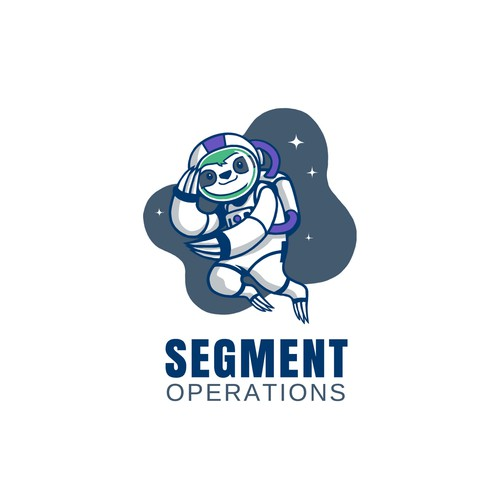Sloth design with the title 'Segment's Operations team needs a cute and hard working sloth mascot logo!!'