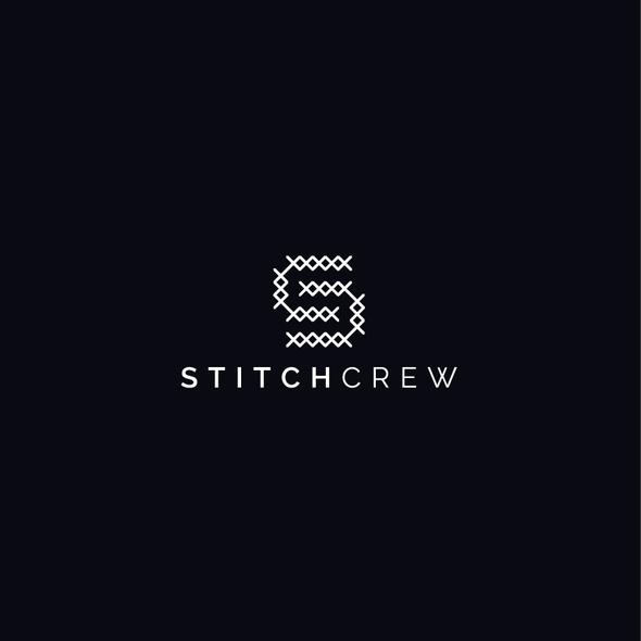 Crew logo with the title 'Stitch Crew Logo'