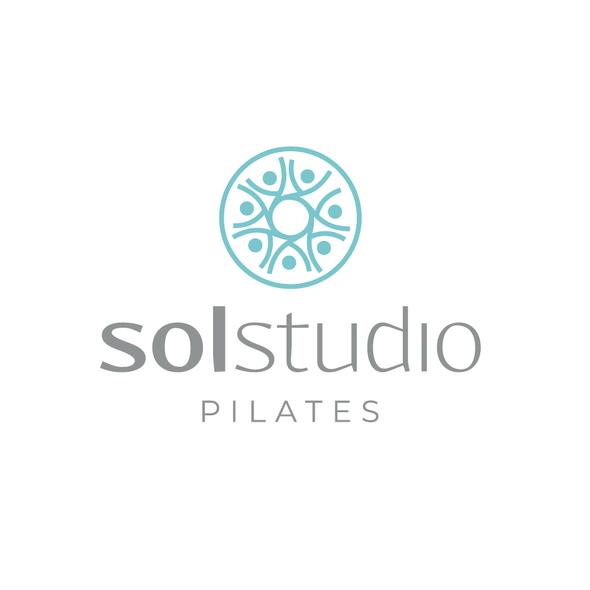 Pilates logo with the title 'solstudio'
