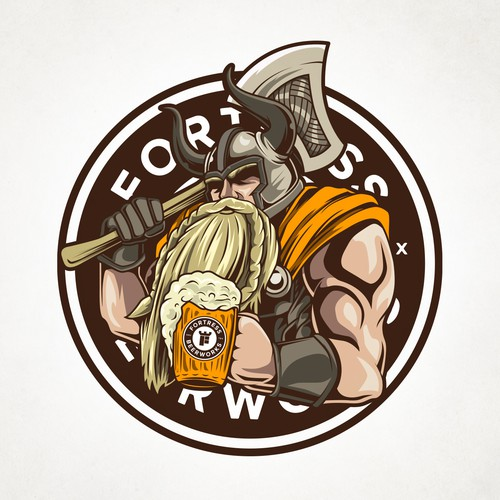 Guardian logo with the title 'Viking Blonde'