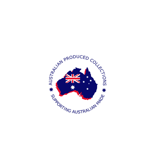 Aussie logo with the title 'Logo for electronic products made in Australia'