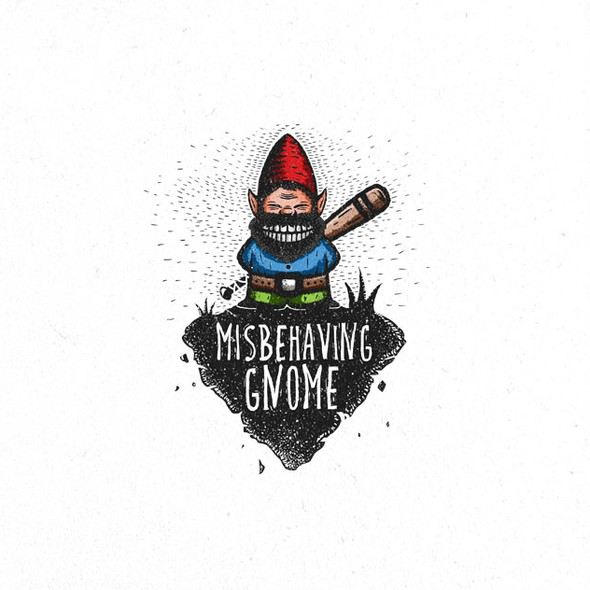Console design with the title 'Misbehaving Gnome'