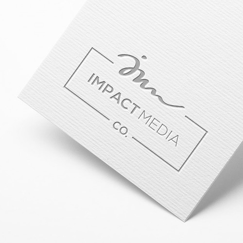 Agency logo with the title 'Impact Media'