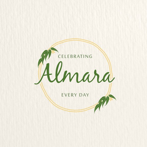 Homemade design with the title 'Logo for Almara'