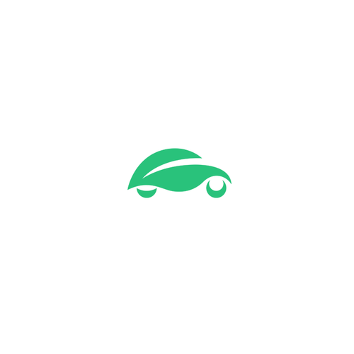 Moving logo with the title 'Logo for electric cars rental start up'