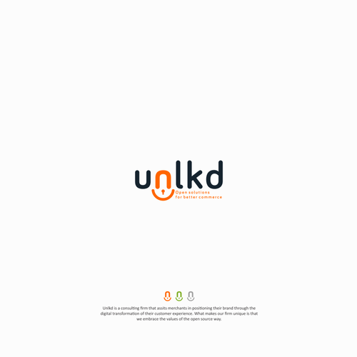 Application brand with the title 'Unlkd'
