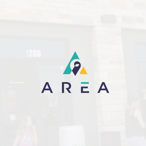 Place design with the title 'Area'