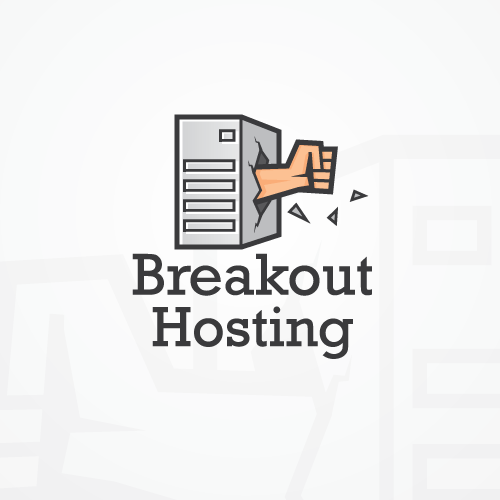 Server design with the title 'Logo Illustration'
