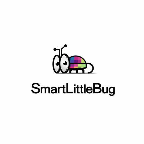 Bug logo with the title 'Smart Little Bug'