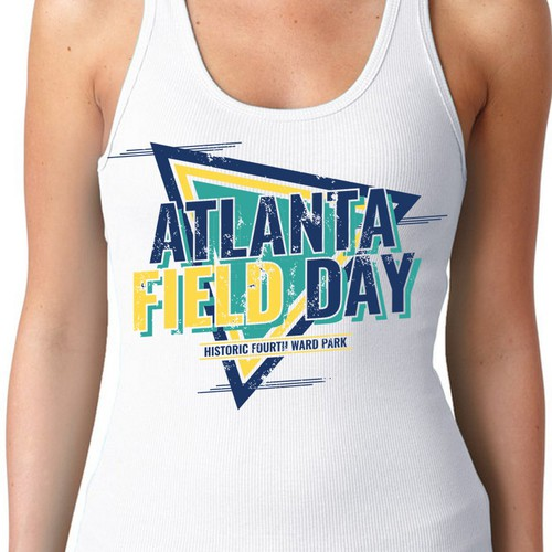 Education t-shirt with the title 'Atlanta Field Day T Shirt'