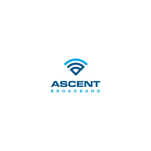 Wi-Fi logo with the title 'WiFi logo design '
