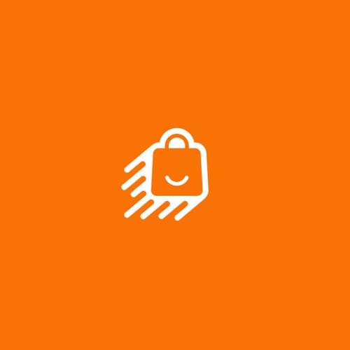Send logo with the title 'Paper bag logo concept for Liefertüte.de'