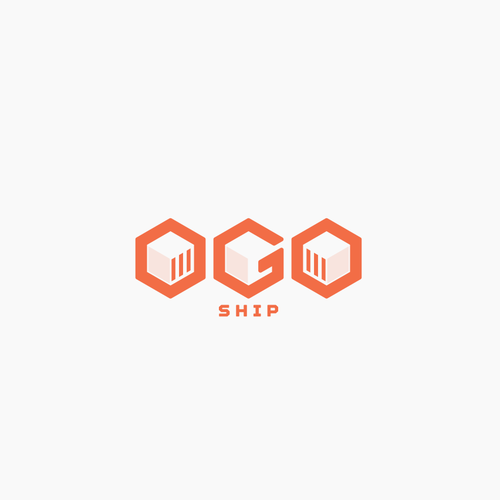 Courier logo with the title 'A logo for delivery company'