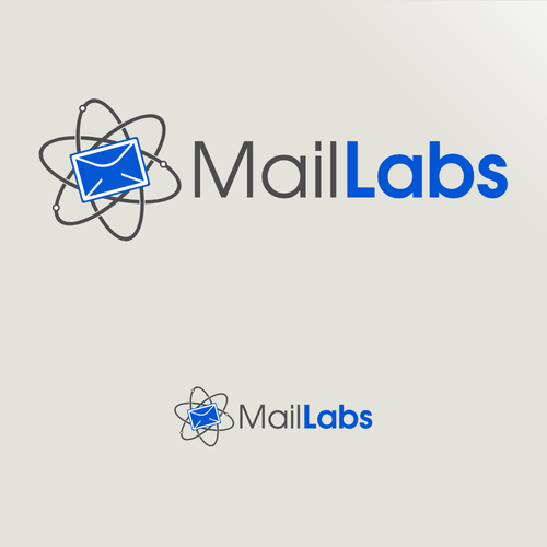 Quantum design with the title 'Quantum Email for MailLabs'