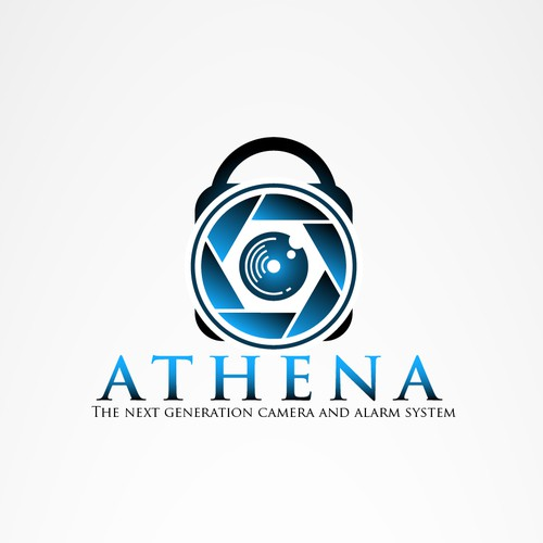 Alarm logo with the title 'Athena'