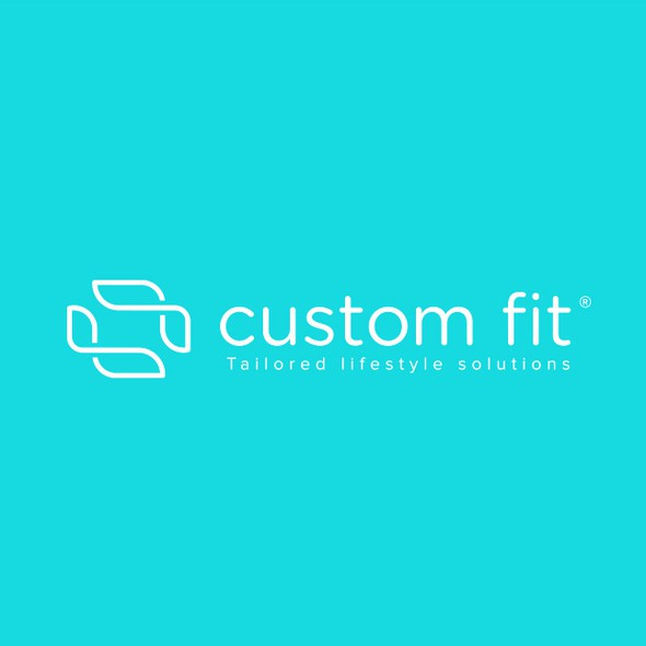 Lifestyle design with the title 'Custom Fit'