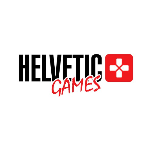 Joystick logo with the title 'Helvetic games'