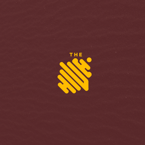 Bee brand with the title 'The Hive logo'