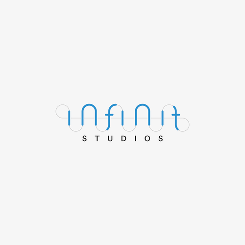 Studio brand with the title 'Infinit Logo'