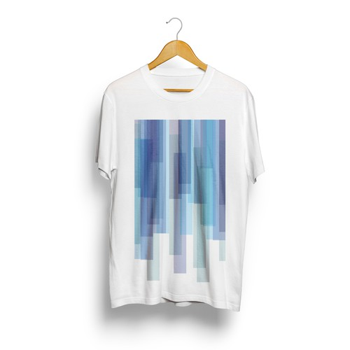 Trendy t-shirt with the title 'Tshirt Design'