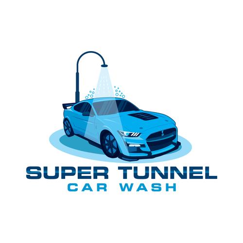 Super logo with the title 'Car wash seeking logo'
