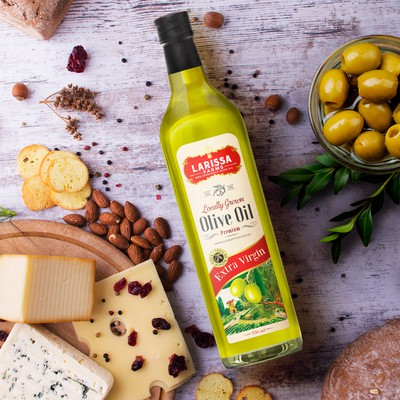 Olive Oil label design