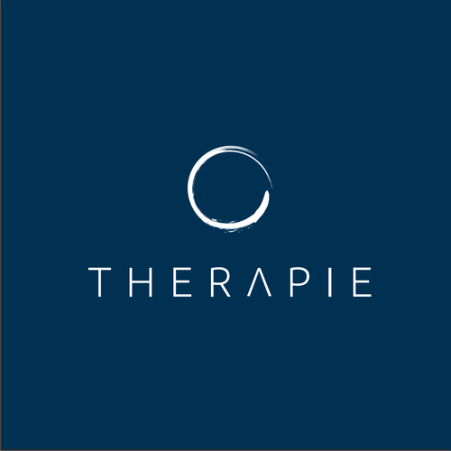 White brand with the title 'Therapie holistic healing and wellness'