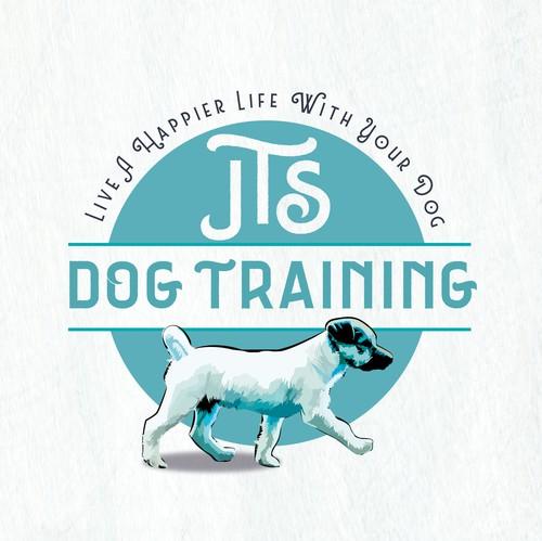 Dog training logo with the title 'Dog Training logo'