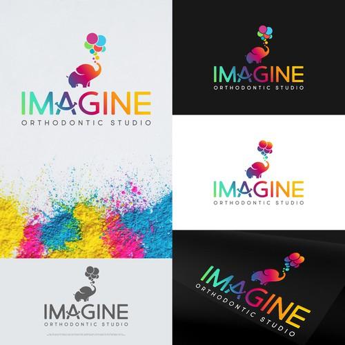 Imagine logo with the title 'Imagine Orthodontic Studio'