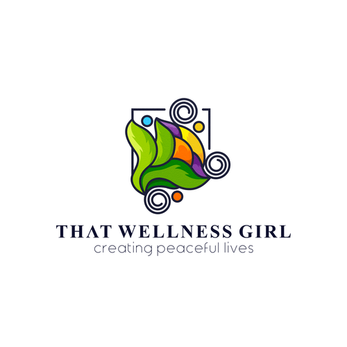 Picture logo with the title 'THAT WELLNESS GIRL'