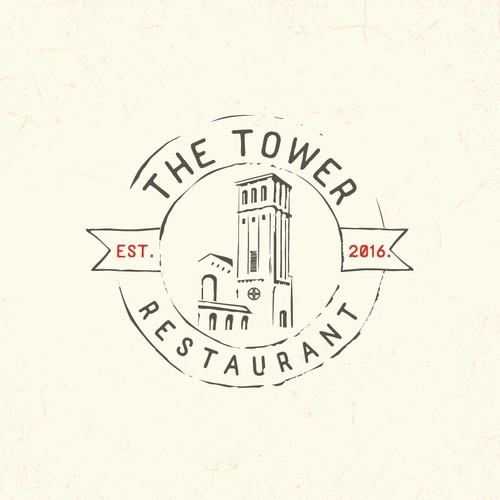 Tavern design with the title 'Logo for restaurant'