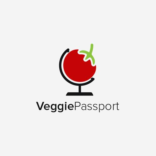 Tour logo with the title 'Veggie Passport'