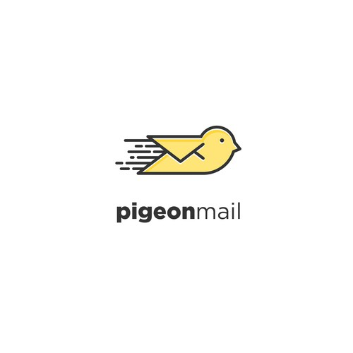 Platform design with the title 'FUN AND UNIQUE LOGO FOR EMAIL MARKETING PLATFORM'