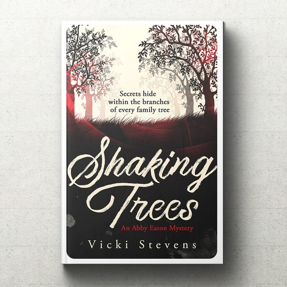 Popular design with the title 'Shaking Trees [Book cover art]'