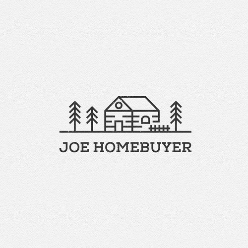 House design with the title 'Simple Sophisticated Logo Concept for Joe Membuyer. '